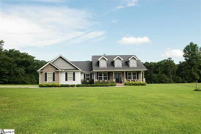 Travelers Rest Single Family Home Contingency Contract: 2615 Tigerville