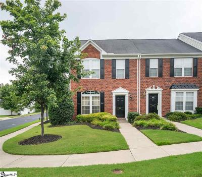 Mauldin Condo/Townhouse For Sale: 354 Moonstone
