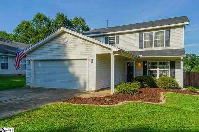 Anderson SC Single Family Home For Sale: $179,900