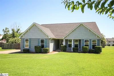 Greer Single Family Home For Sale: 153 Abners Run
