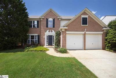 Simpsonville Single Family Home For Sale: 3 Birkdale