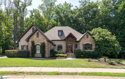 Simpsonville Single Family Home For Sale: 8 Allegheny