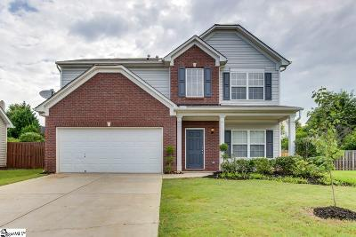 Simpsonville Single Family Home For Sale: 7 Frostweed