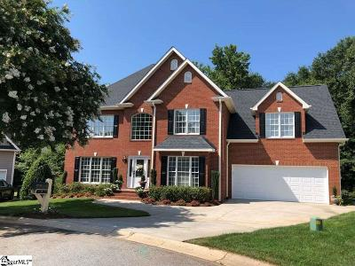 Greer Single Family Home For Sale: 7 Kennesaw