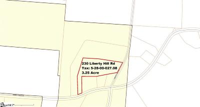 Greer Residential Lots & Land For Sale: 230 Liberty Hill
