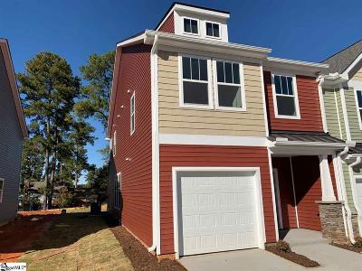 Spartanburg Condo/Townhouse For Sale: 215 Keaton