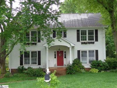 Greer Single Family Home Contingency Contract: 102 Sugar Lake