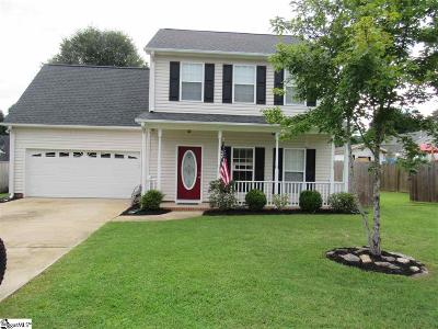 Easley SC Single Family Home For Sale: $172,500