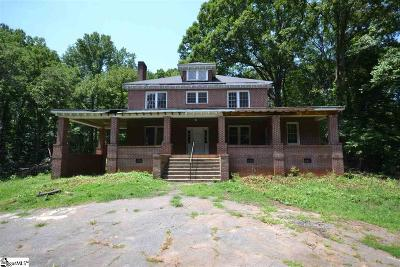 Taylors SC Single Family Home For Sale: $175,000
