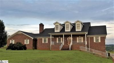 Greer SC Single Family Home For Sale: $549,900
