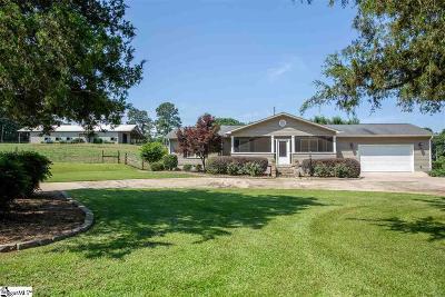 Seneca Single Family Home For Sale: 476 Fire Tower