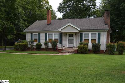 Travelers Rest Single Family Home For Sale: 5463 Locust Hill