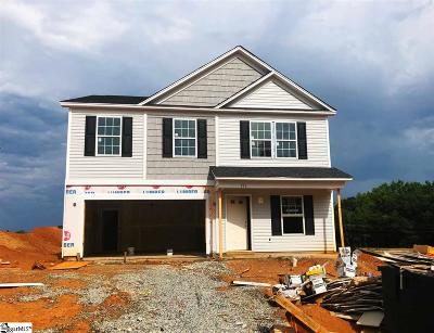 Fountain Inn Single Family Home Contingency Contract: 223 Barred Owl