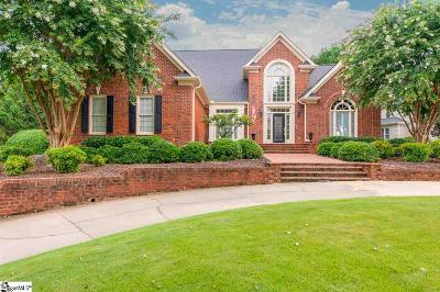 Simpsonville Single Family Home For Sale: 2 Bentford