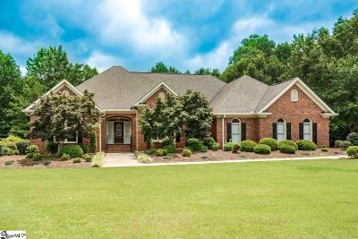 Spartanburg Single Family Home Contingency Contract: 813 Oakcrest