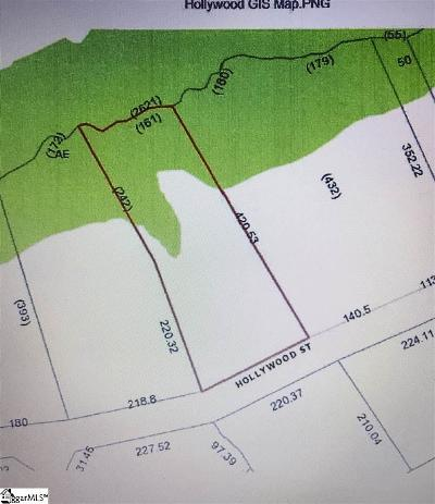 Easley Residential Lots & Land For Sale: 207 Hollywood