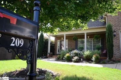 Spartanburg Single Family Home For Sale: 209 N Radcliff
