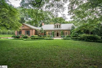 Greenville Single Family Home For Sale: 26 Woodland Way