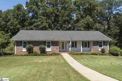 Greer Single Family Home Contingency Contract: 304 Lakecrest