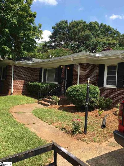 Greenville County Single Family Home For Sale: 8 E Blue Ridge