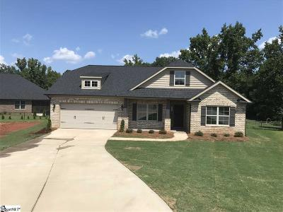 Inman Single Family Home For Sale: 619 E Dateria