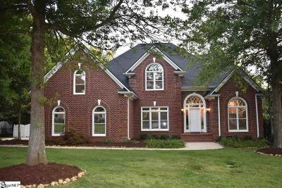 Simpsonville Single Family Home For Sale: 6 Hickory Twig