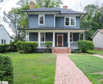 Greenville Single Family Home For Sale: 410 Perry