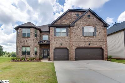 Greer Single Family Home Contingency Contract: 412 Sunnybrook