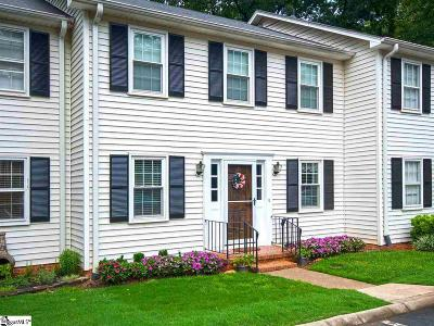 Greenville County Condo/Townhouse For Sale: 900 N Main #Unit 35