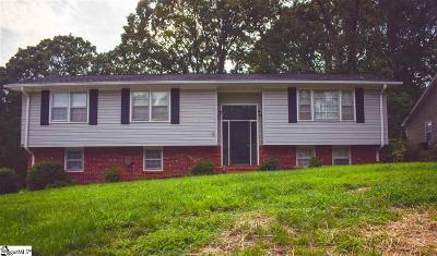 Greenville County Single Family Home For Sale: 3 Stradley