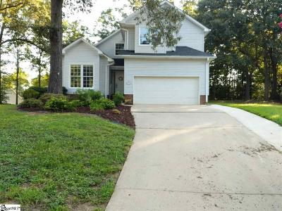 Simpsonville Single Family Home For Sale: 112 Fox Chase