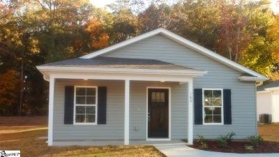Spartanburg Single Family Home For Sale: 160 Stonecreek