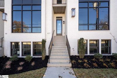 Greenville Condo/Townhouse For Sale: 607 Arlington #Unit 5
