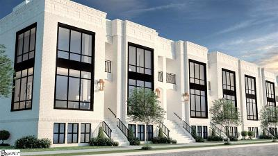 Greenville Condo/Townhouse For Sale: 615 Arlington #Unit 9