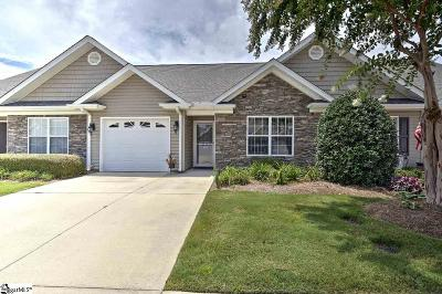 Simpsonville Condo/Townhouse For Sale: 109 Shalom