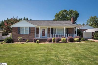 Greenville County Single Family Home For Sale: 9 Cole