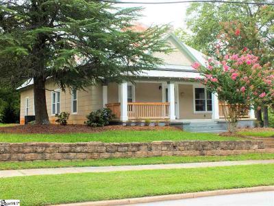 Easley Single Family Home For Sale: 619 NE Main