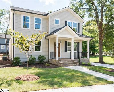 Greenville Single Family Home Contingency Contract: 158 Stall
