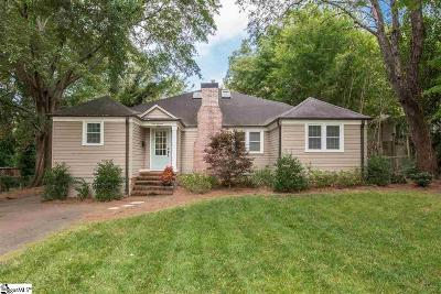 Greenville Single Family Home Contingency Contract: 119 Parkwood