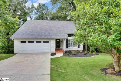 Greer Single Family Home For Sale: 303 Sugar Creek