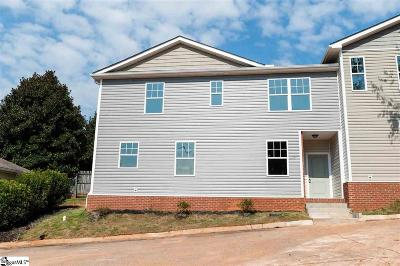 Greer Condo/Townhouse For Sale: 1 Huntress