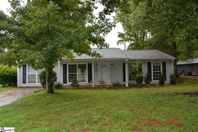 Greenville County Single Family Home For Sale: 311 Idlewild