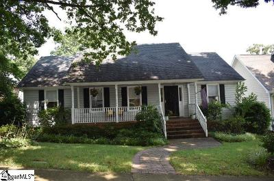 Greenville Single Family Home For Sale: 166 Marshall Bridge