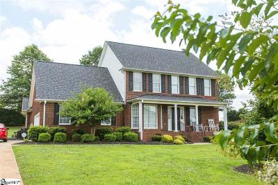 Boiling Springs Single Family Home Contingency Contract: 212 Heather Glen