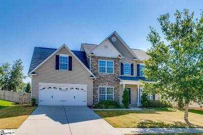 Simpsonville Single Family Home For Sale: 19 Santee