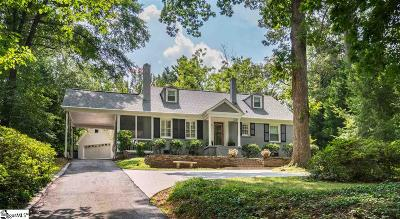 Greenville County Single Family Home For Sale: 78 Fernwood