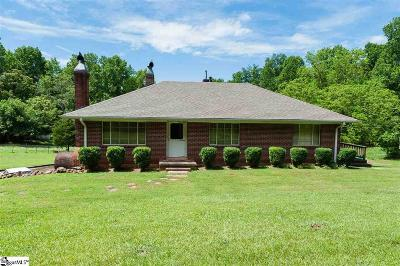 Greenville County Single Family Home For Sale: 3498 State Park