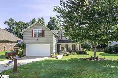 Boiling Springs Single Family Home Contingency Contract: 836 Thornbird