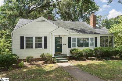 Augusta Road Single Family Home Contingency Contract: 312 Longview