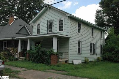 Greenville Single Family Home For Sale: 118 Arlington
